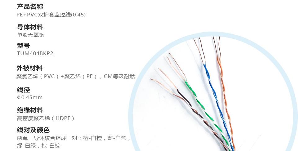 安防监控专yong网线