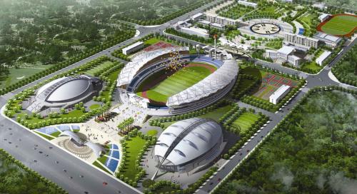 江西省上饶市奥林匹克体育中心